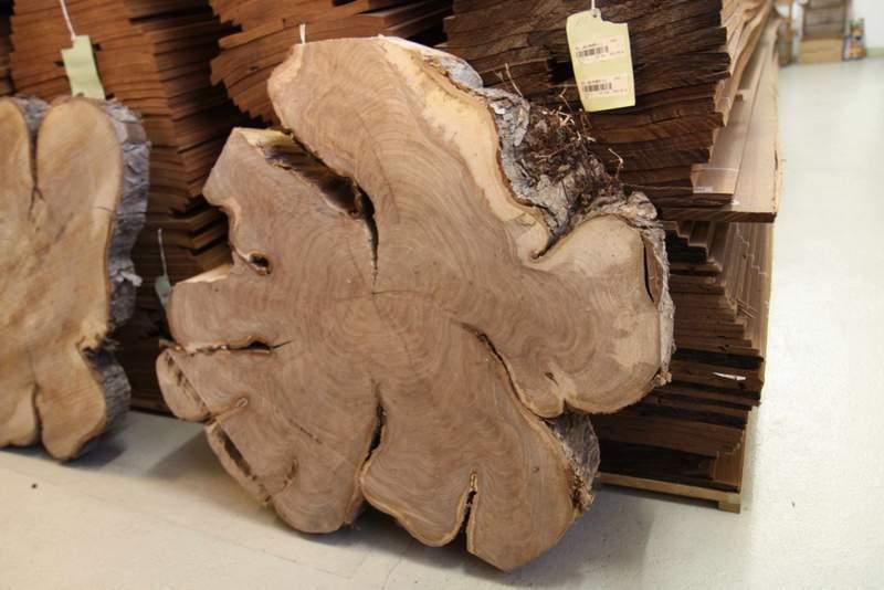 lagerprogramm tischplatten wischer gmbh furniere massivholz baumscheiben. Black Bedroom Furniture Sets. Home Design Ideas